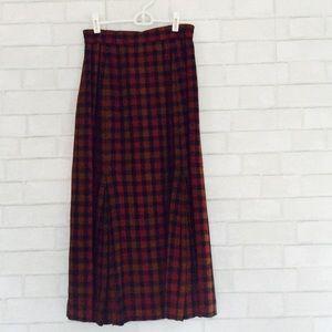 Dresses & Skirts - Plaid MidCalf Skirt Size 10
